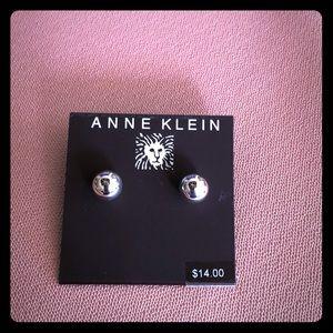 Anne Klein Silver Earrings - NWT